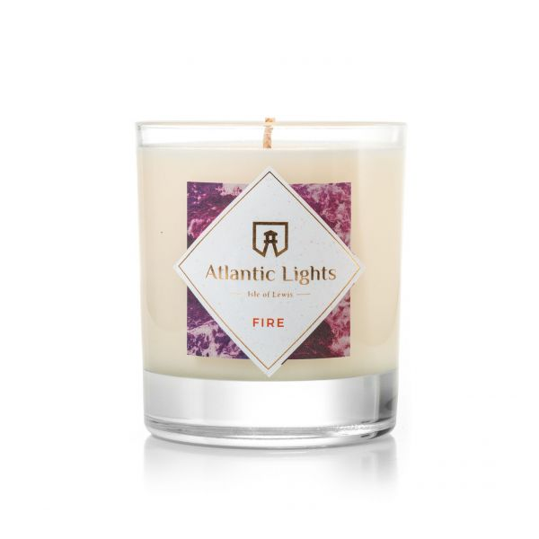 Fire Soy Wax Candle